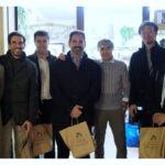 Responsabili Olympus  marketing e di progetto Olympus Giappone e Spagna in visita da Foto Orlando